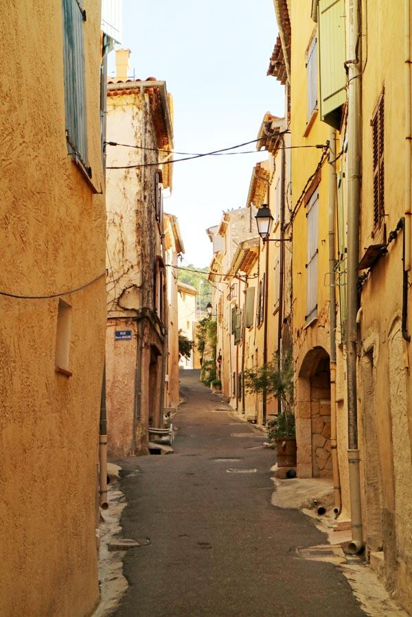 Rondstruinen op de markt in het Franse Aups - AllinMam.com