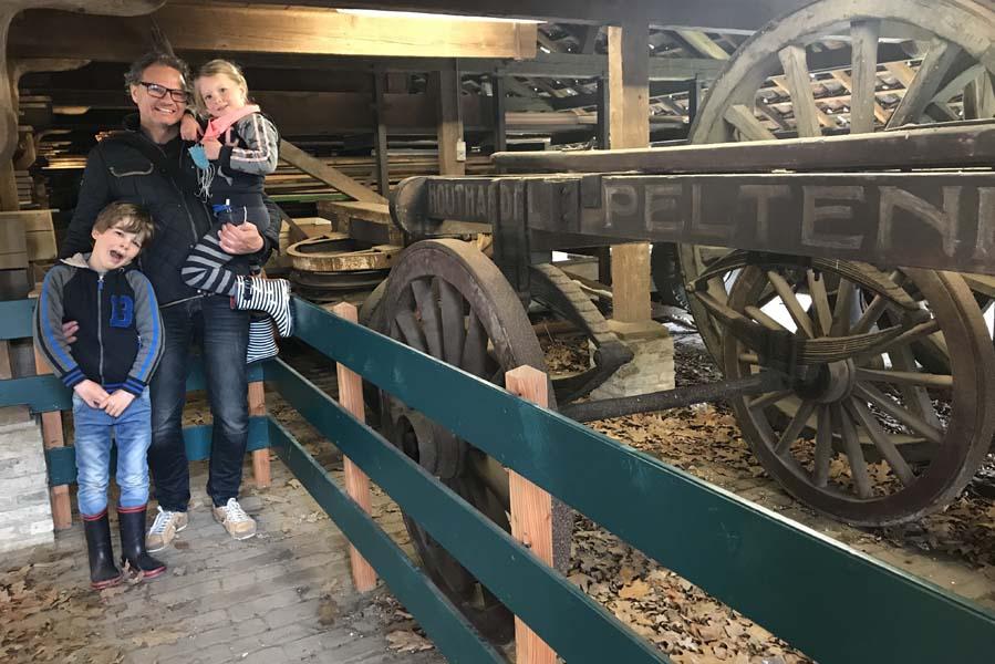 Peltenburg houtloods uit Haarlem in Openluchtmuseum Arnhem - AllinMam.com