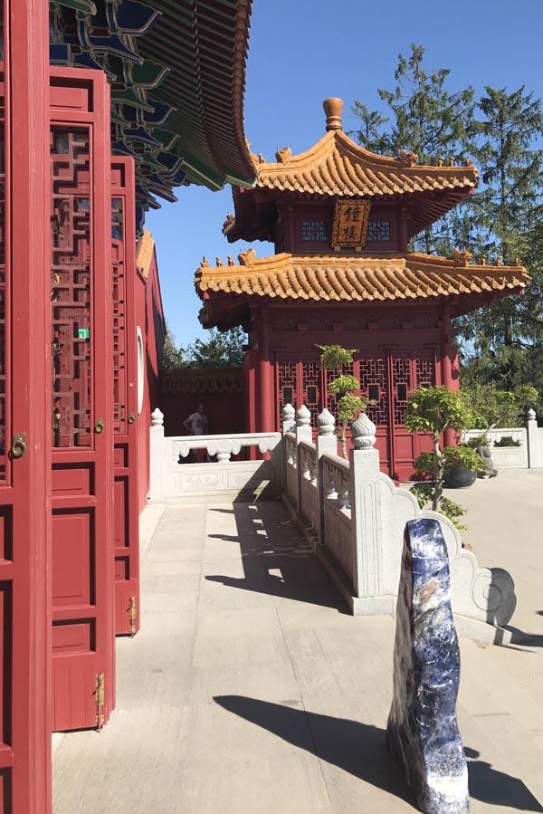 La Cité des Immortels Pairi Daiza binnenzijde boeddhistische tempel - AllinMam.com