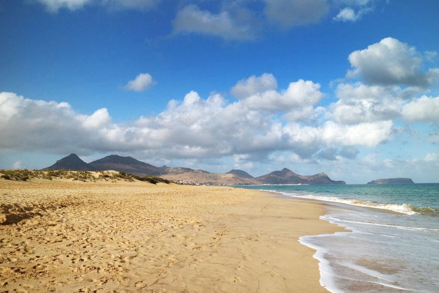 Porto Santo strand - AllinMam.com