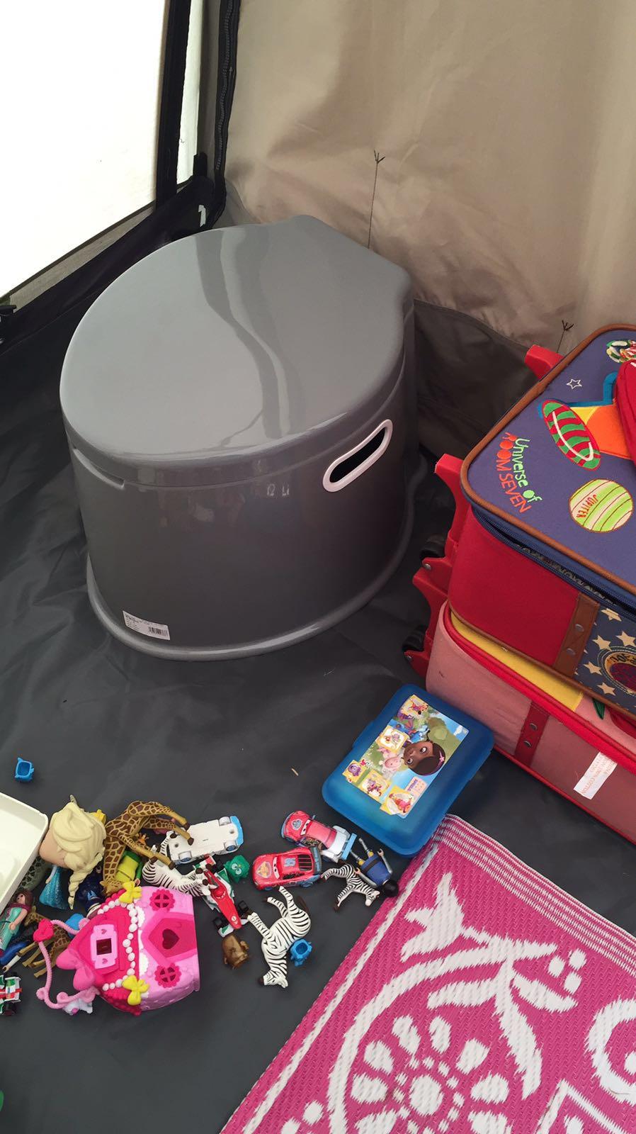 Toilet voor in de tent - AllinMam.com