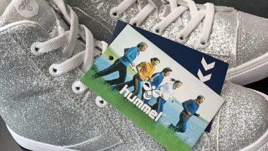 Photo of Hummel glitter schoenen voor meisjes