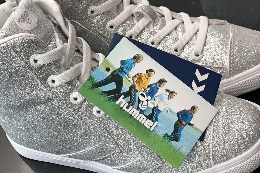 Hummel glitter schoenen voor meisjes - AllinMam.com