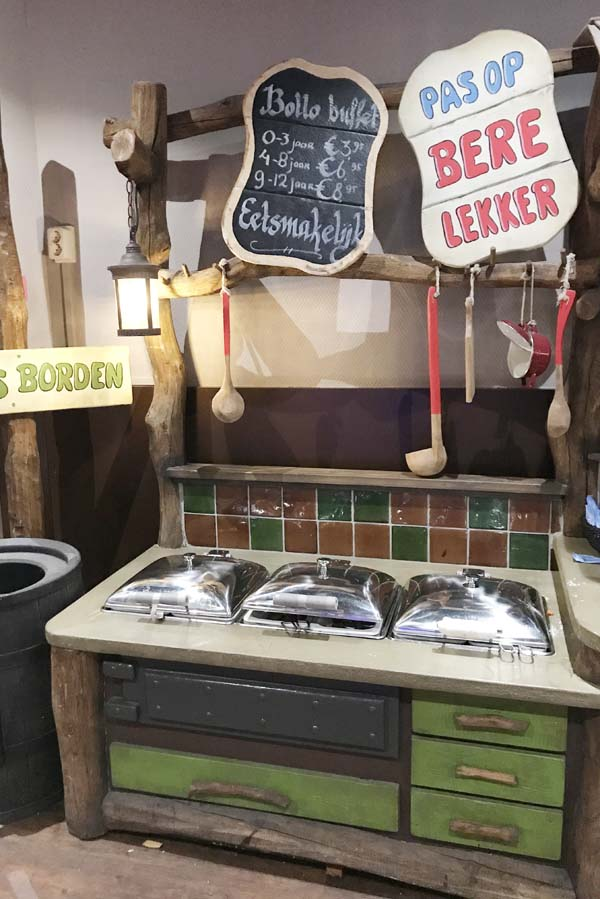 Bollo's kinderbuffet op Landal Heideheuvel - AllinMam.com