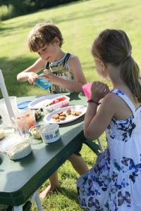 BBQ in het park met het gezin - AllinMam.com
