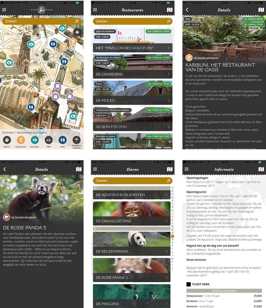 Pairi Daiza app - AllinMam.com