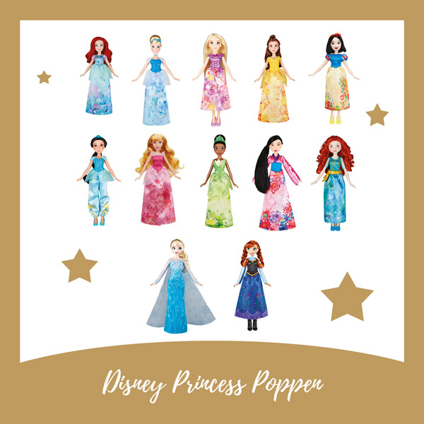 Disney Princess poppen Hasbro - AllinMam.com