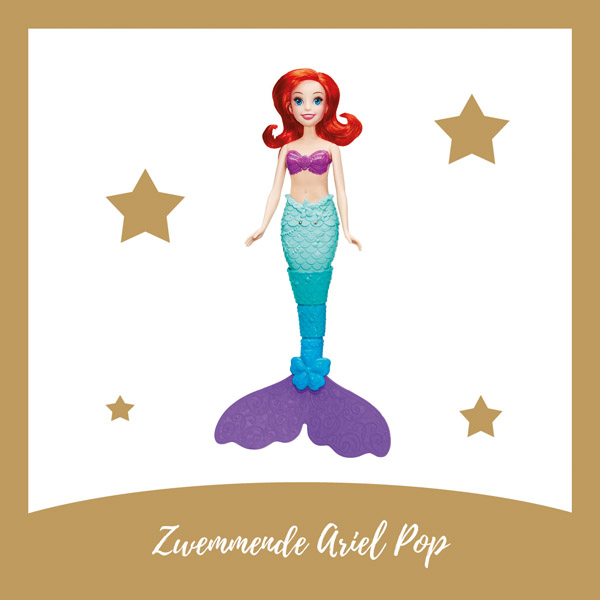 Zwemmende Ariel pop Hasbro - AllinMam.com