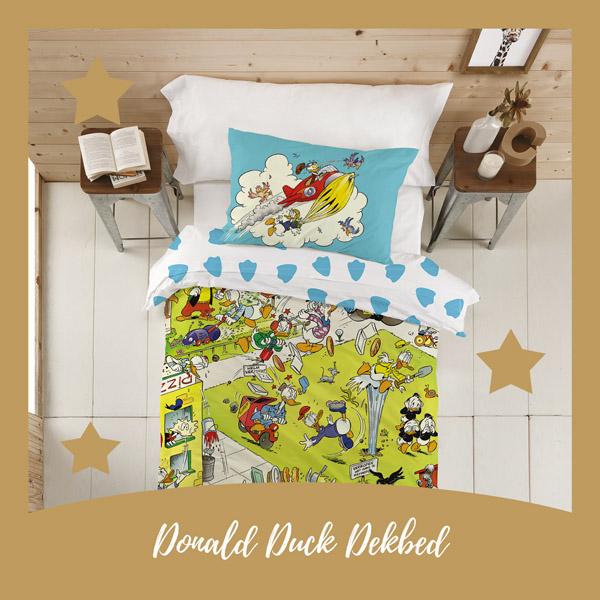 Donald Duck dekbedovertrek - AllinMam.com