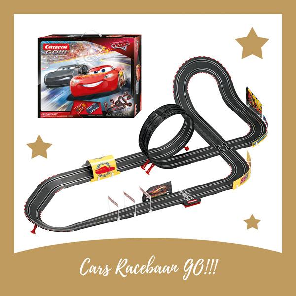Cars Racebaan Go Carrera - AllinMam.com