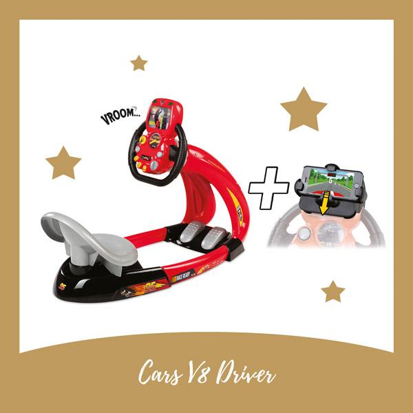 Cars V8 driver Smoby - AllinMam.com