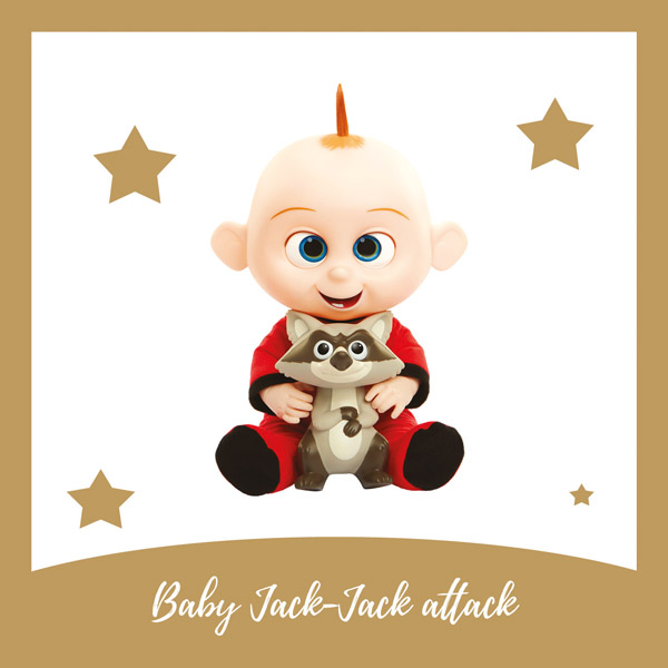 Baby Jack-Jack attack JAKKS - AllinMam.com