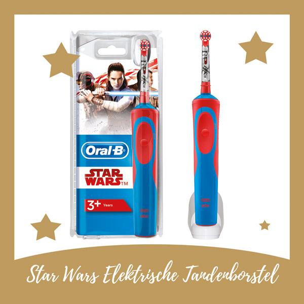 Star Wars elektrische tandenborstel Oral B - AllinMam.com