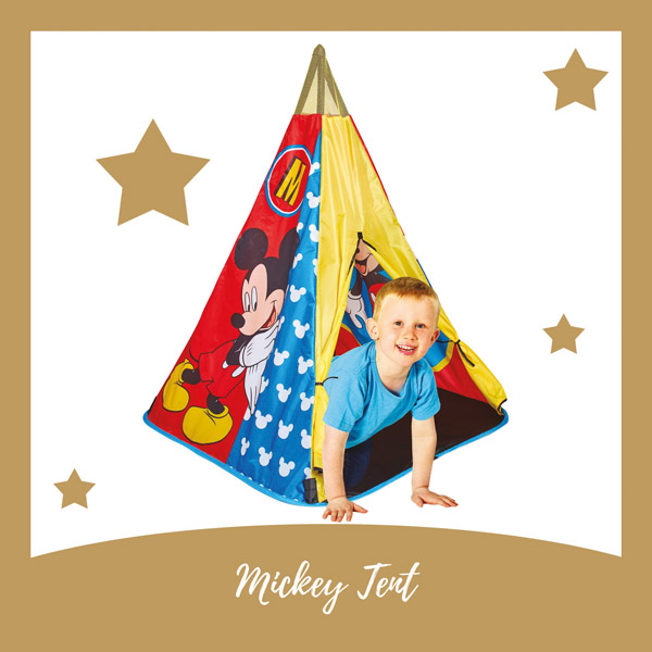 Mickey Mouse tipi speeltent - AllinMam.com