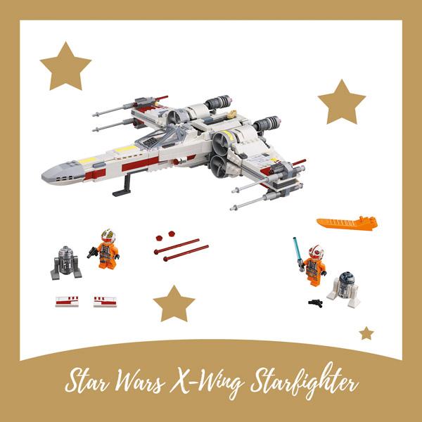 Star Wars X-Wing Starfighter LEGO - AllinMam.com