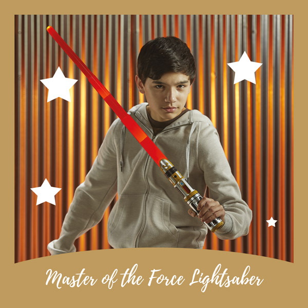 Master the force lightsaber Hasbro - AllinMam.com