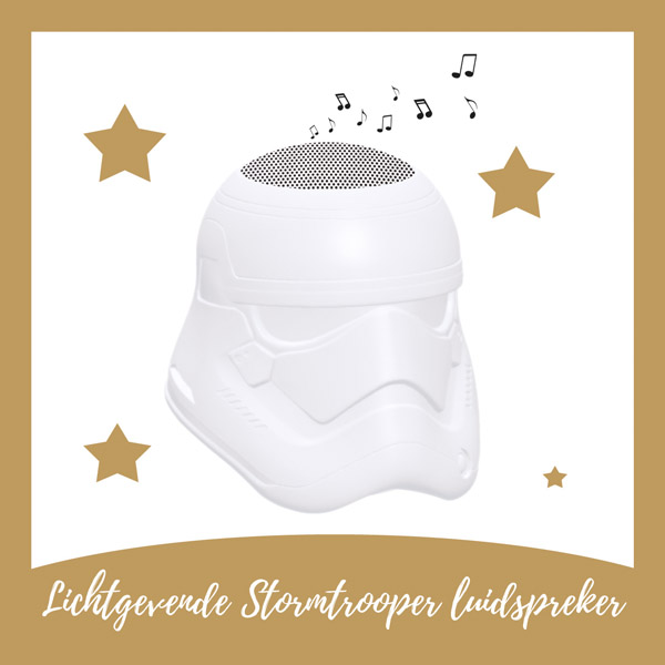 Lichtgevende Stormtrooper luidspreker Lexibook - AllinMam.com