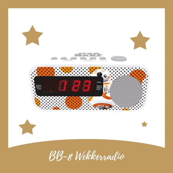 BB-8 wekkerradio Lexibook - AllinMam.com