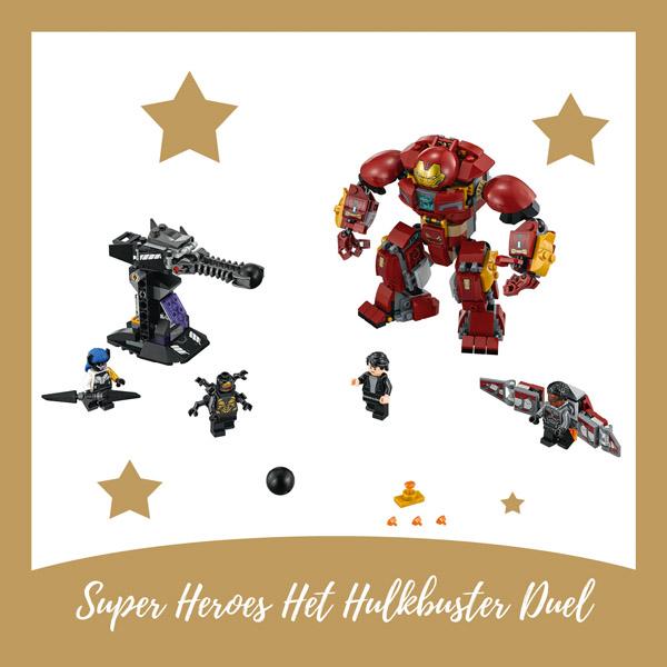 LEGO Super Hoeroes Het Hulkbuster duel - AllinMam.com
