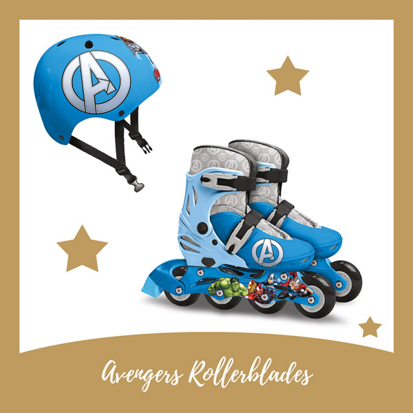 Avengers rollerblades Stamp - AllinMam.com