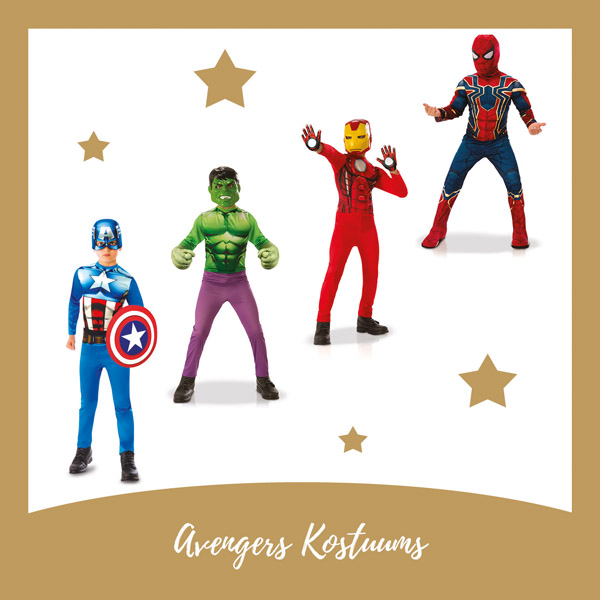 Avenger kostuums IMG Rubie's - AllinMam.com