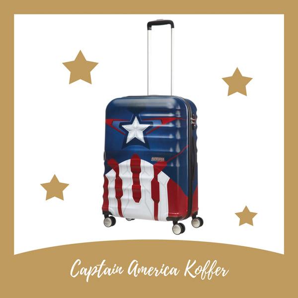 American Tourister Captain America koffer - AllinMam.com