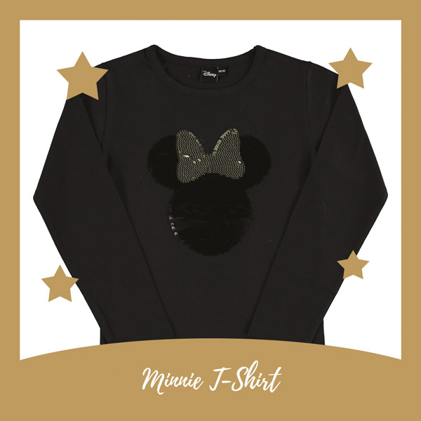 Minnie shirt met omkeerbare pailletten - AllinMam.com