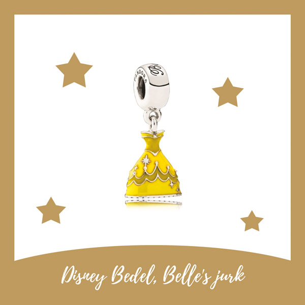 Disney bedel,Belle's jurk, Pandora - AllinMam.com