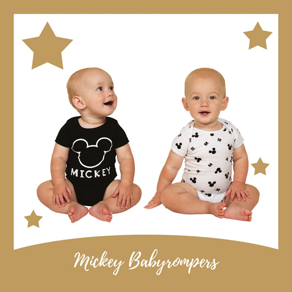 Mickey Mouse rompertjes - AllinMam.com