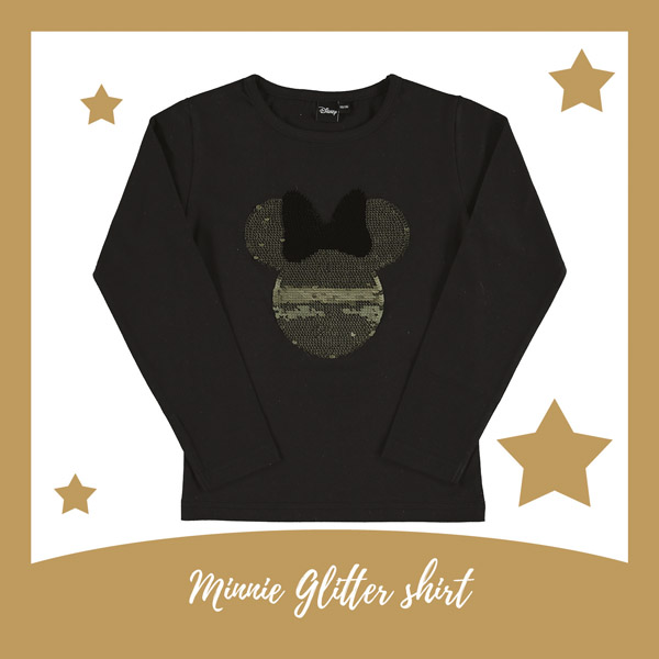 Mickey Mouse omkeerbare pailletten shirt - AllinMam.com
