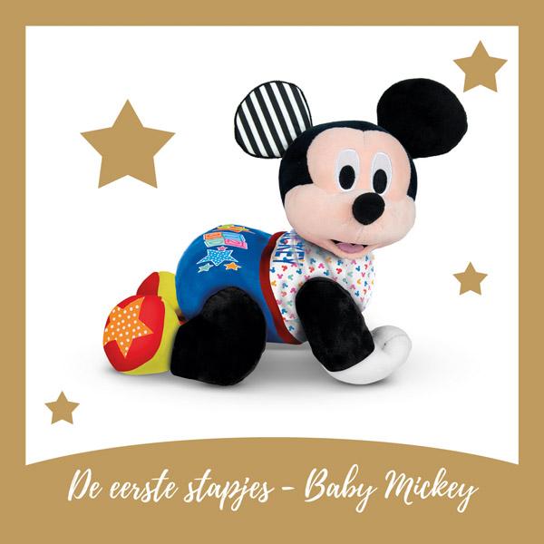 Bewegende Mickey Mouse knuffel - AllinMam.com