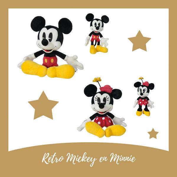 Mickey en Minnie retro - AllinMam.com