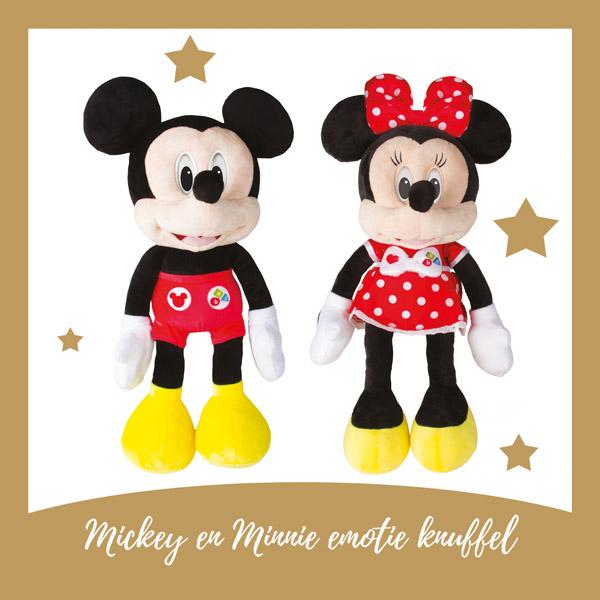 Mickey en Minnie knuffels - AllinMam.com