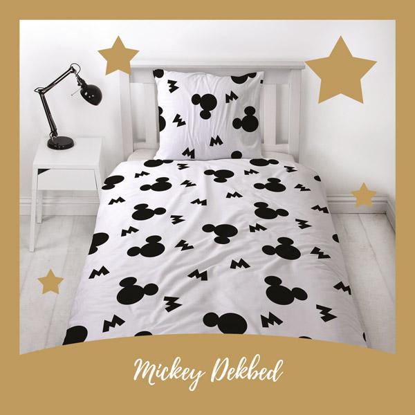 Mickey Mouse dekbedovertrek - AllinMam.com