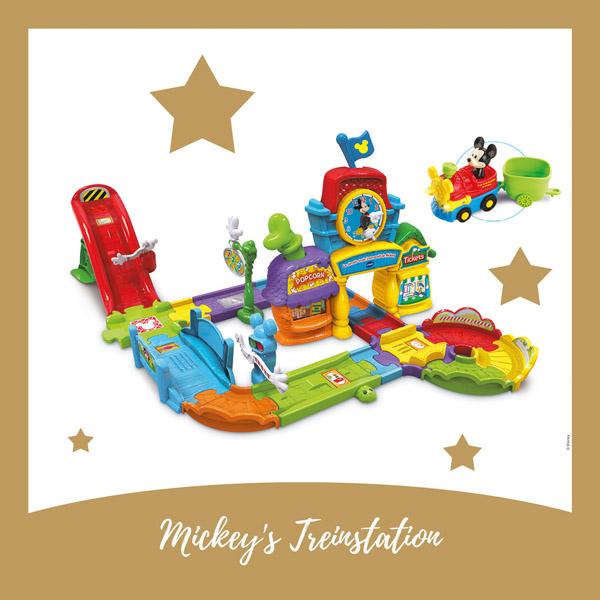 Mickey's treinstation Vtech - AllinMam.com