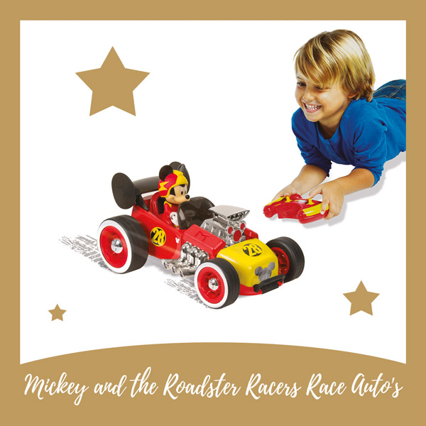 Mickey and the Roadster Racers Race auto's - AllinMam.com