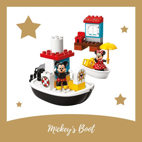 Mickey's Boot LEGO DUPLO - AllinMam.com