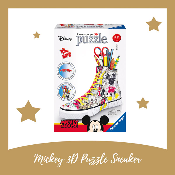 Mickey Mouse 3d puzzel sneaker Ravensburger - AllinMam.com