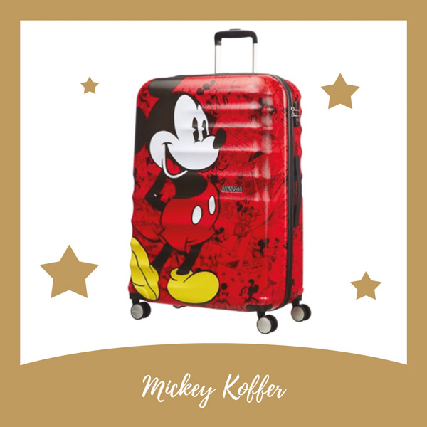 Mickey Mouse American Tourister koffer - AllinMam.com