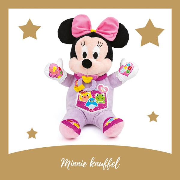 Minnie knuffel Clementoni - AllinMam.com