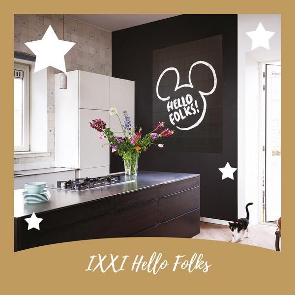 IXXI Mickey Mouse Hello Folks - AllinMam.com