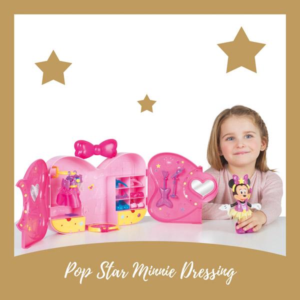 Pop Star Minnie dressing IMC - AllinMam.com