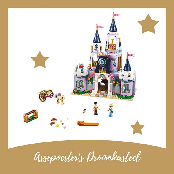 Assepoester's droomkasteel LEGO - AllinMam.com