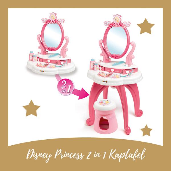 Disney Princess 2 in 1 kaptafel Smoby - AllinMam.com