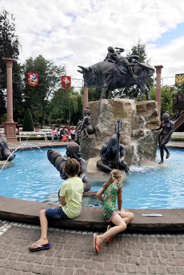 Europa-park fontein - AllinMam.com