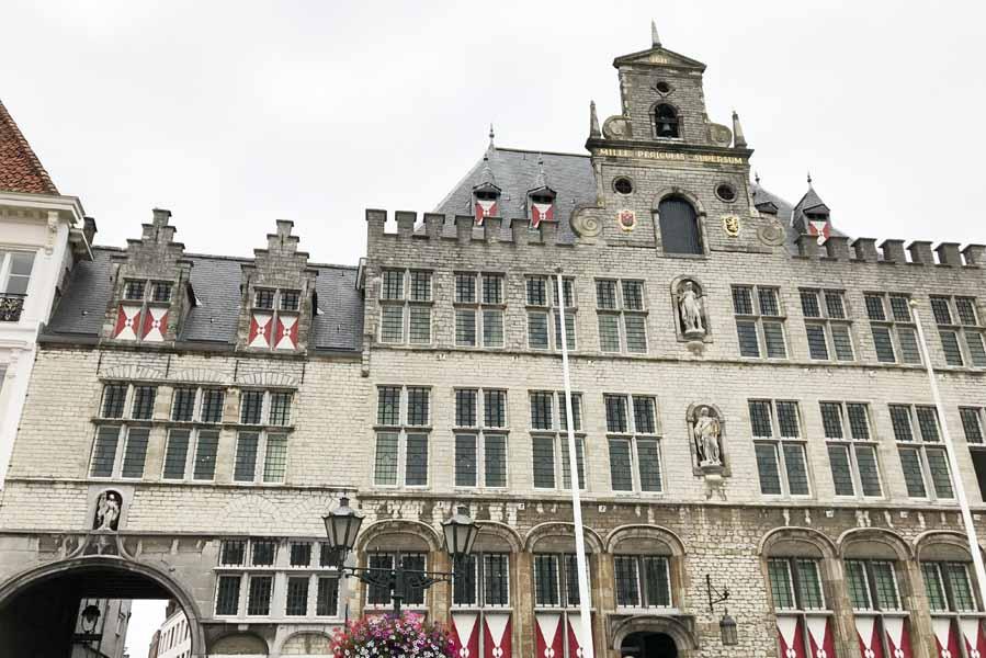Bergen op Zoom historisch centrum - AllinMam.com