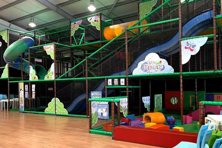 Landal Piperdam indoor speeltuin - Landal Piperdam, perfecte plek voor een vakantie in Schotland - AllinMam.com