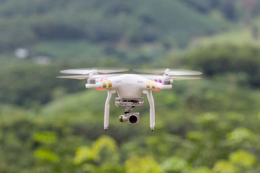 DJI Phantom drone gebruiken in Oostenrijk - AllinMam.com