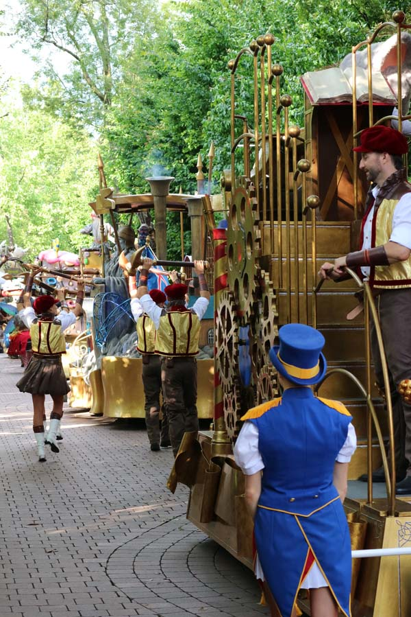 De parade in Europa-park - AllinMam.com