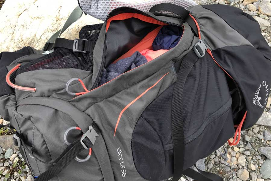 Osprey Sirrus 36 dames rugtas / backpack [REVIEW] - AllinMam.com